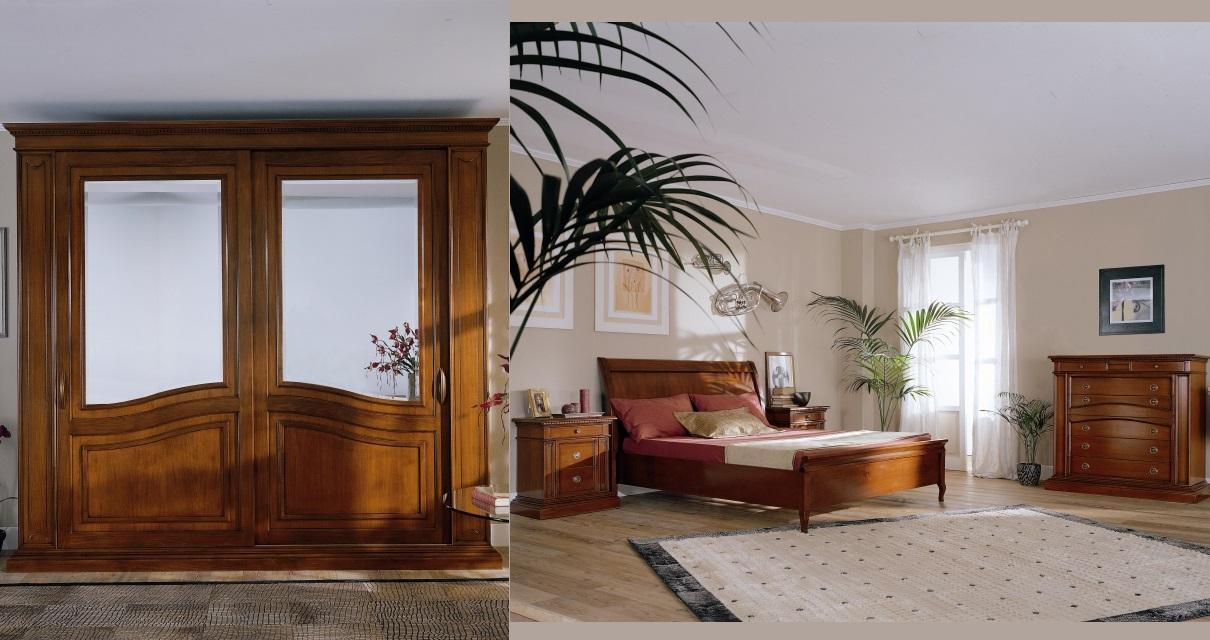 Offertissime camera matrimoniale diogene in legno for Camera matrimoniale in legno