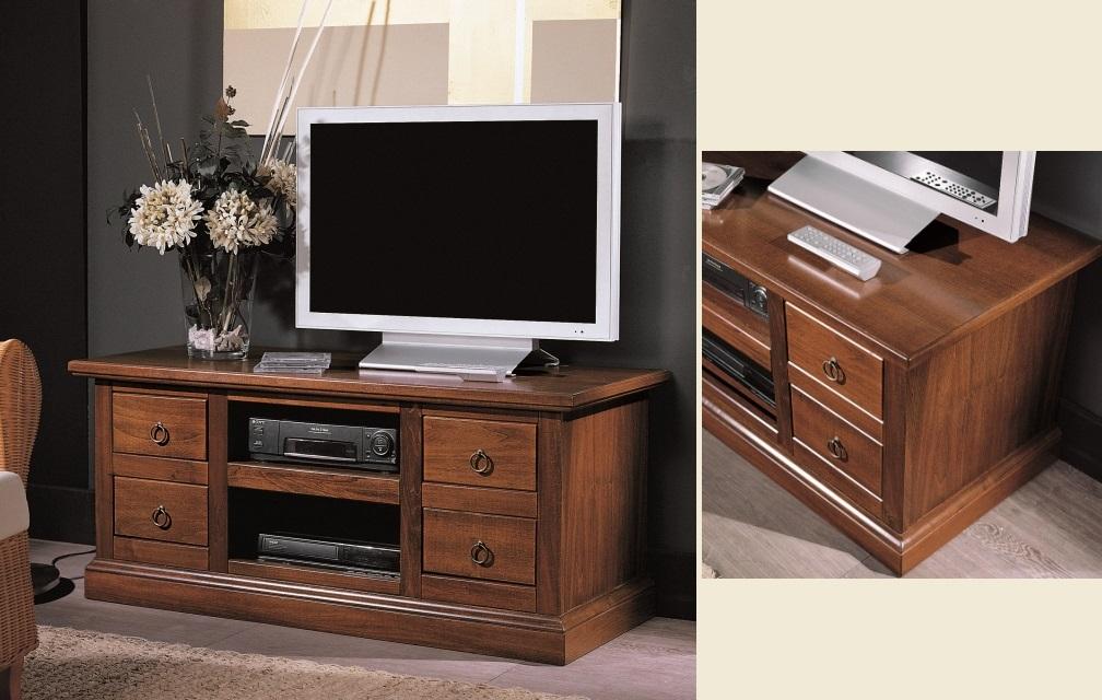 Cassapanca porta TV in legno