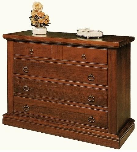 Com e comodini com 3 2 cassetti in legno arte povera for Piattaie arte povera