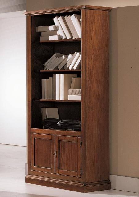 Librerie : libreria 2 porte in legno arte povera