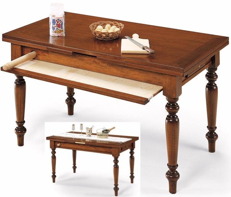 Tavolo in legno attrezzato con tagliere - Tavoli da birreria 220x80 ...