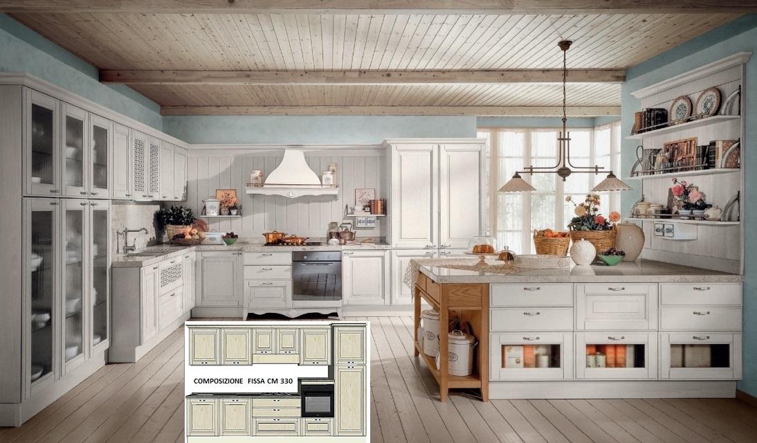 Cucine : Cucina classica modello Flaminia