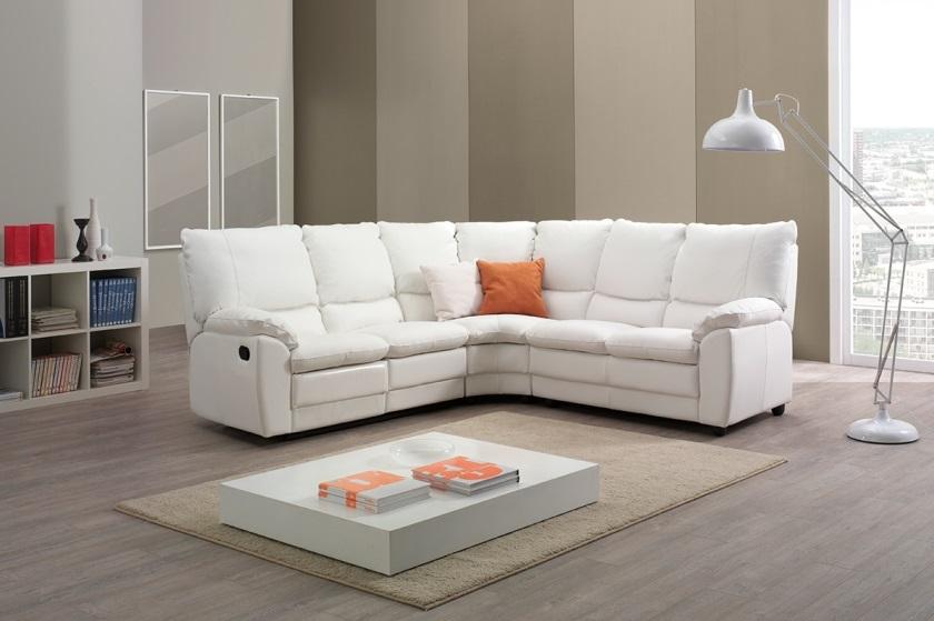 Imbottiti divano ad angolo in vera pelle - Divano ad angolo in pelle ...