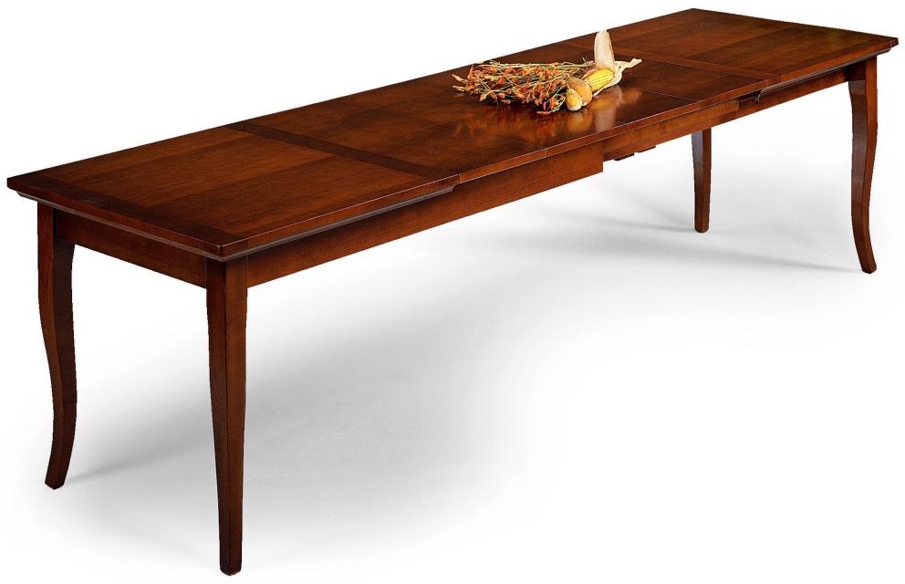 Tavoli quadrati e rettangolari : Tavolo allungabile in legno di ...