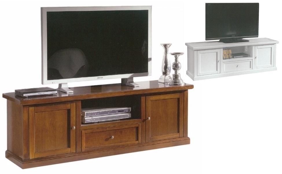 Porta tv bassi cassapanca porta tv in legno 2 porte - Mobili porta tv mercatone uno ...