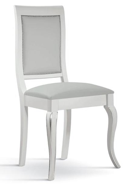 Sedie e Panche: Sedia in legno seduta imbottita