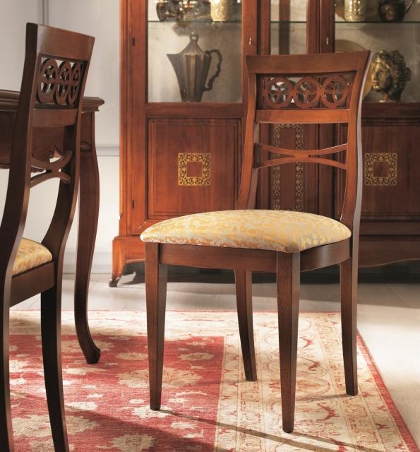 Sedute Per Sedie In Legno.Sedie E Panche Sedia In Legno Seduta Imbottita