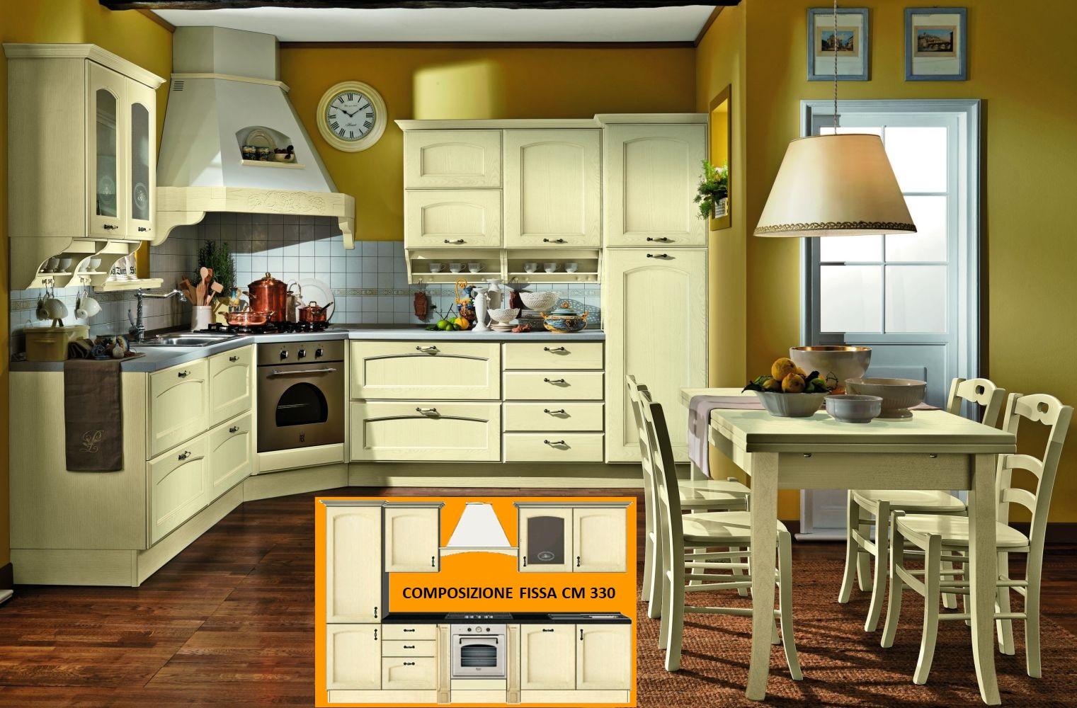 Cucine : Cucina classica modello Taormina