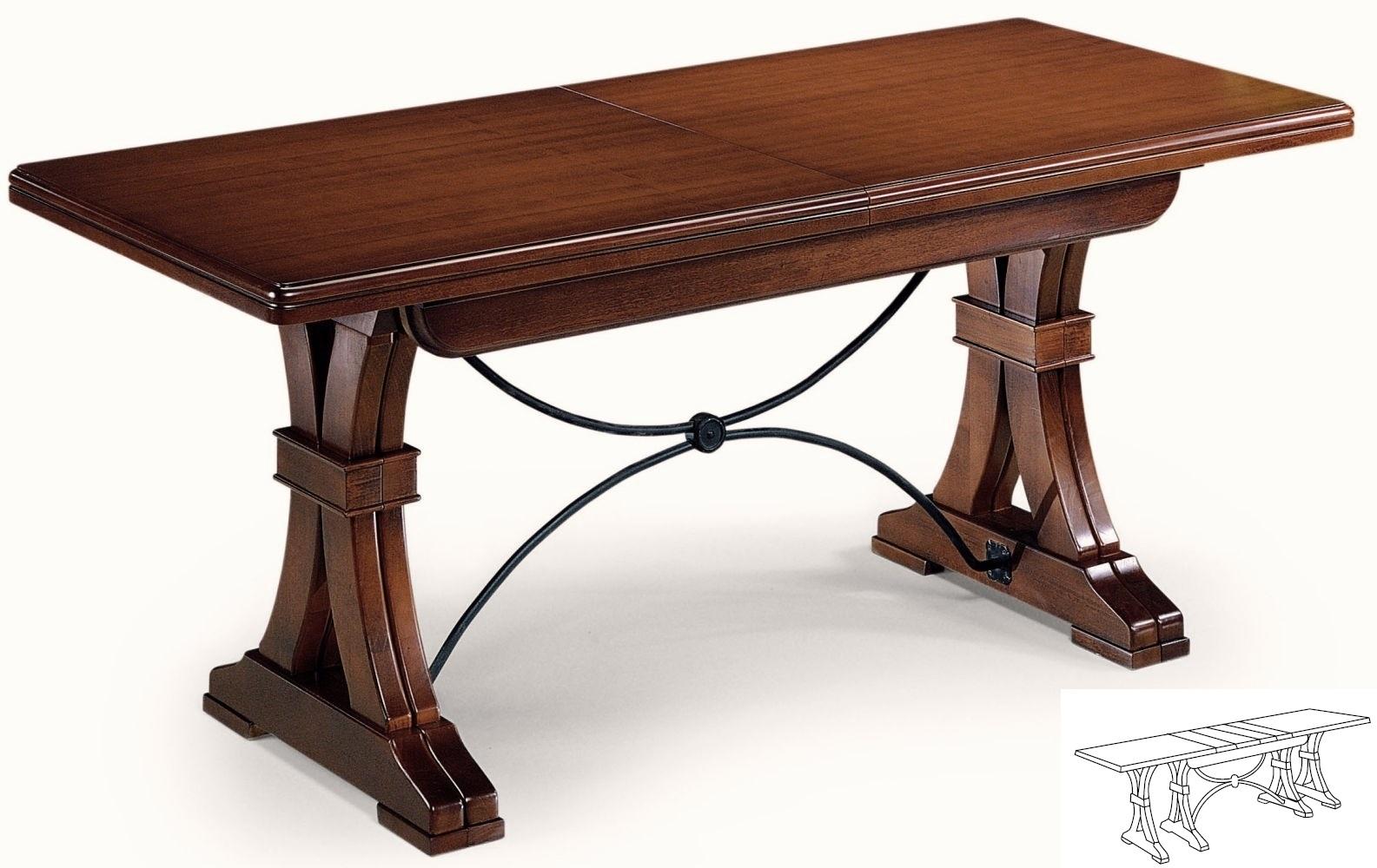 Tavoli rettangolari e quadrati : Tavolo allungabile a cm 360 ...
